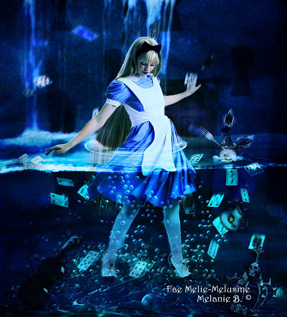 Alice in waterworld by MelieMelusine