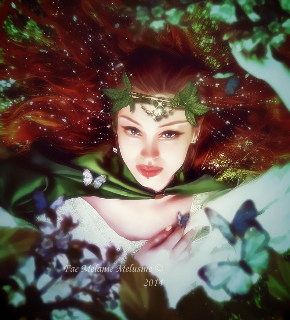 Ode to Gaya by Fae-Melie-Melusine