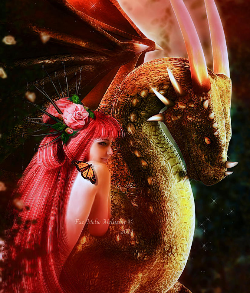 The Beauty and The Beast III by Fae-Melie-Melusine