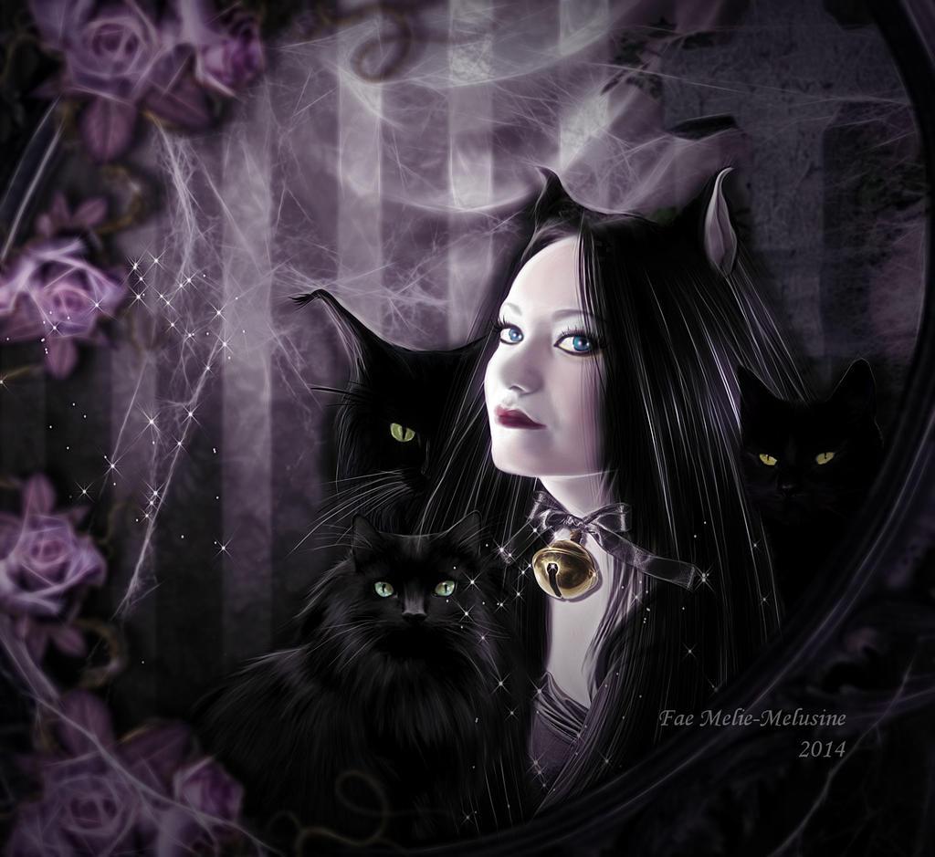 Goddess of Night by Fae-Melie-Melusine