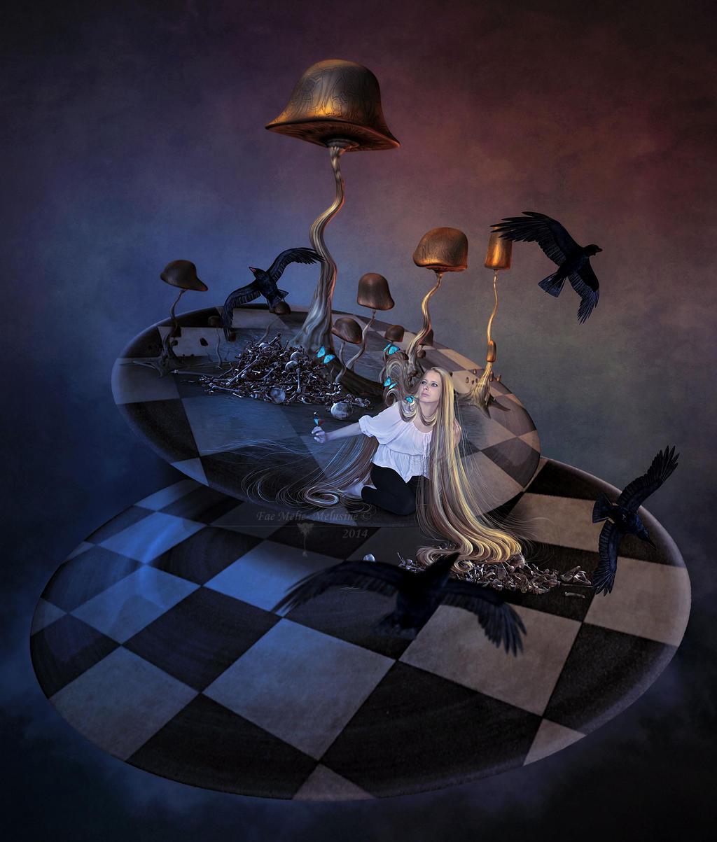 Lost In Nightmare by MelieMelusine