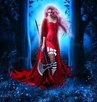 Dangerous Red Riding Hood by MelFeanen