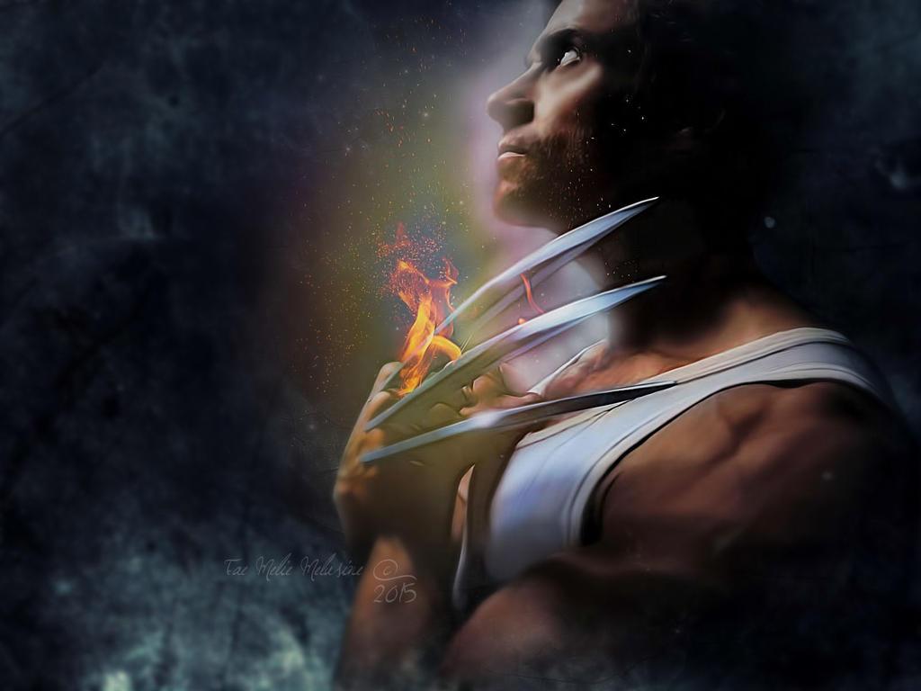 Wolverine Fanart by Fae-Melie-Melusine