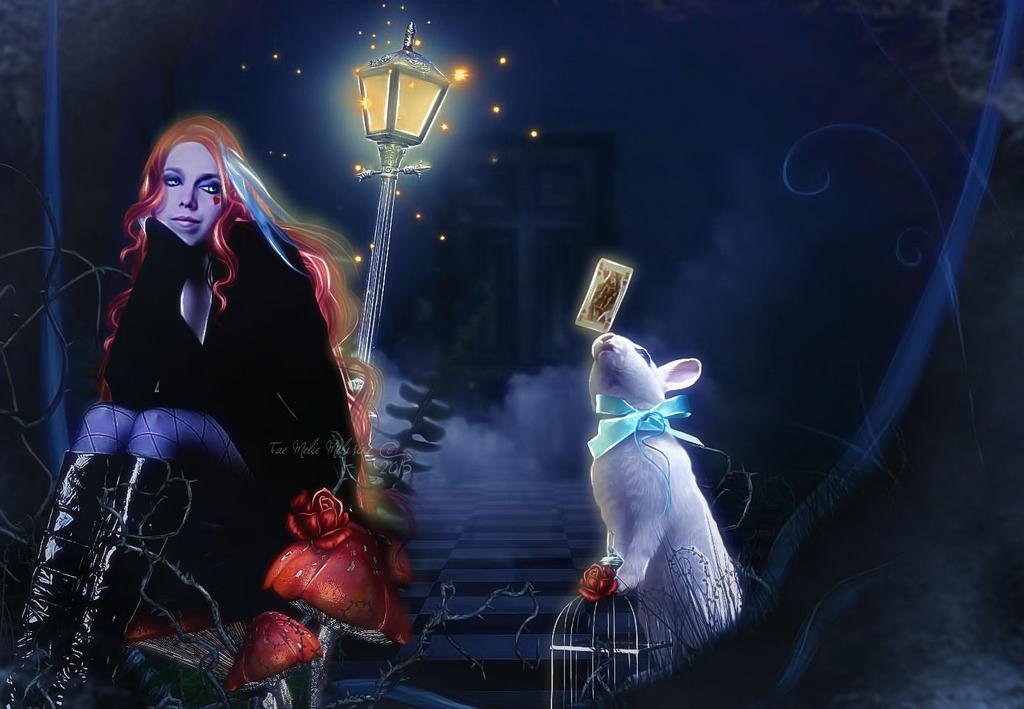 The path of the Wonderland by MelieMelusine