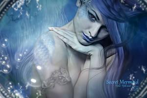 Secret Mermaid by MelFeanen