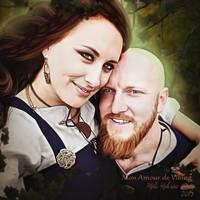 Mon amour de Viking by MelFeanen