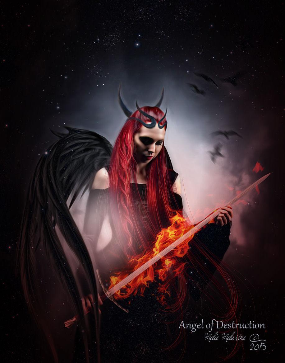Angel of Destruction by MelieMelusine