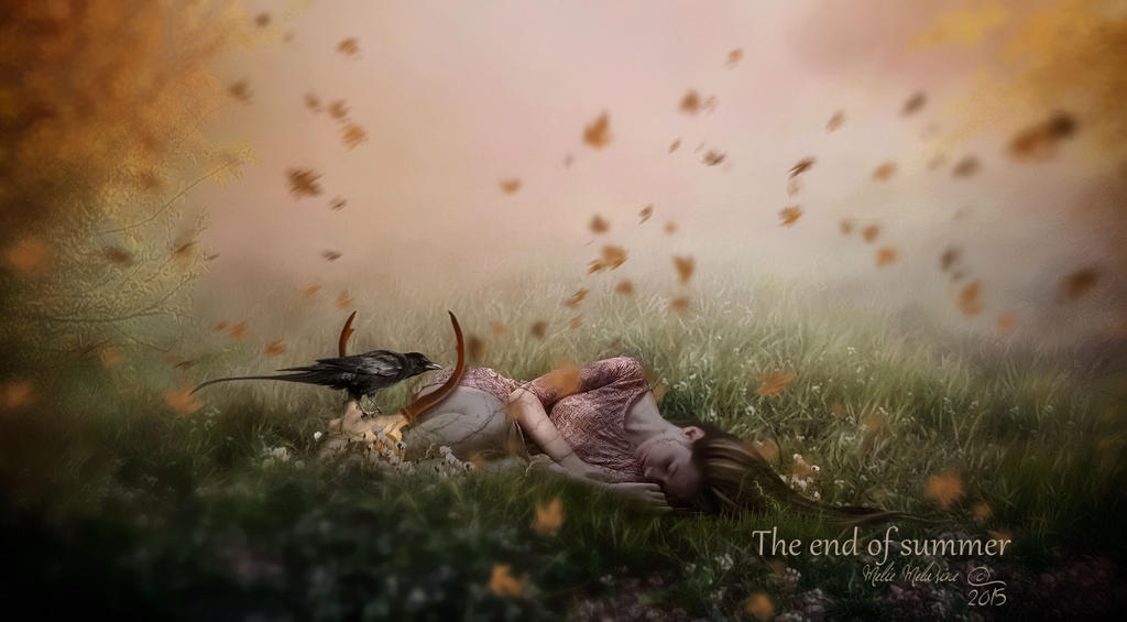 The end of summer by MelieMelusine