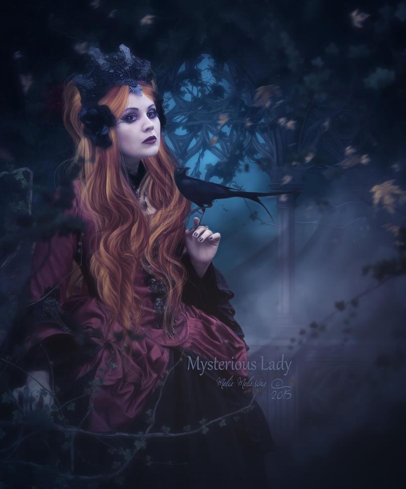 Mysterious Lady by MelieMelusine
