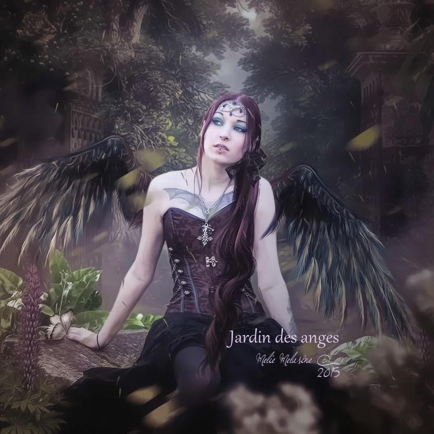 Jardin des anges by MelieMelusine