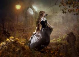 Walking in the Shadow by MelFeanen