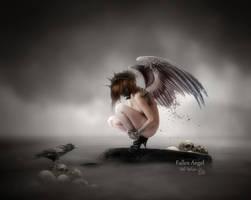Fallen Angel by MelFeanen