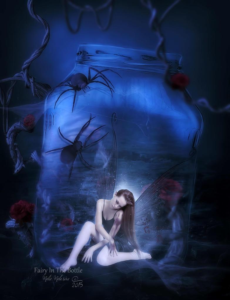 Fairy In The Bottle by MelieMelusine