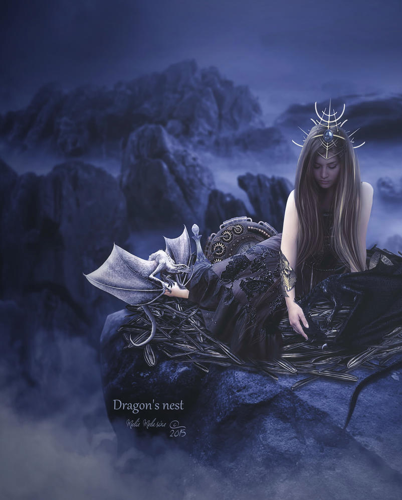 Dragon's nest by MelieMelusine