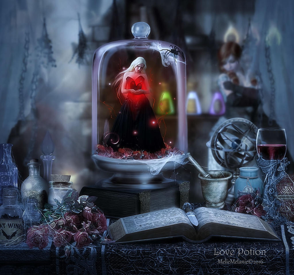 Love Potion by MelieMelusine
