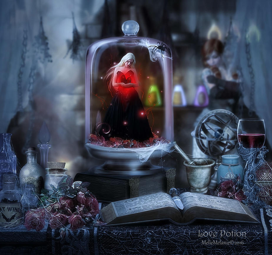 Love Potion by MelieMelusine