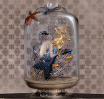 Little Mermaid in Jar II by MelFeanen