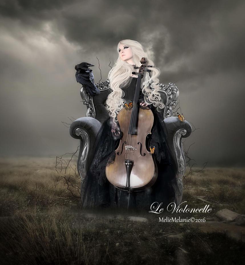 Le Violoncelle by MelieMelusine