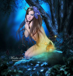 Maiden of the forest by MelFeanen