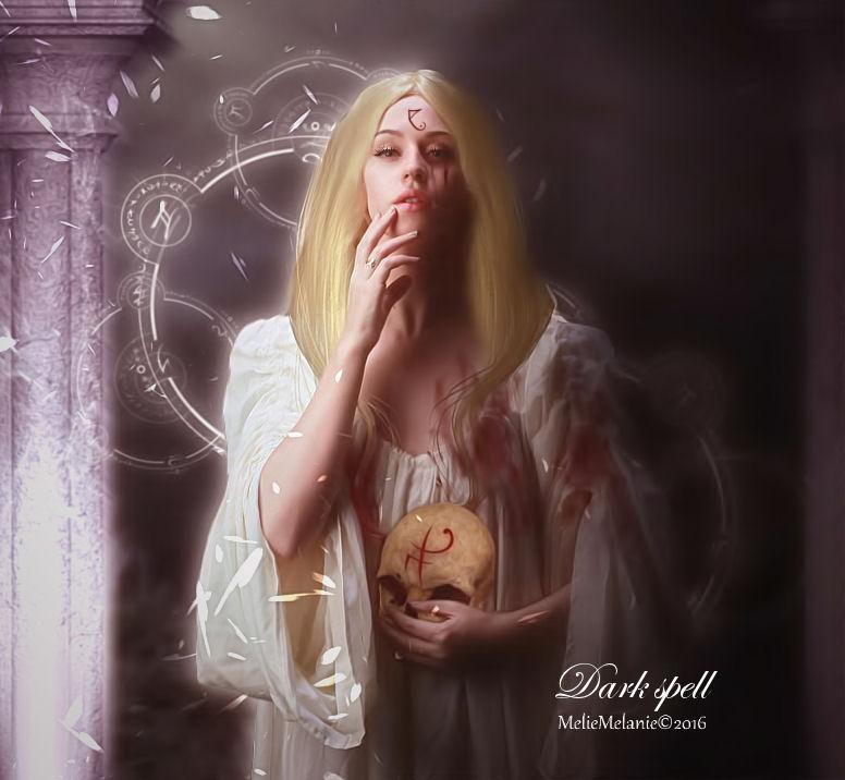 Dark spell by MelieMelusine