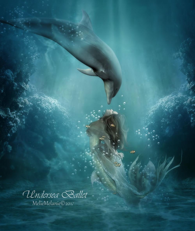 Undersea Ballet by MelFeanen