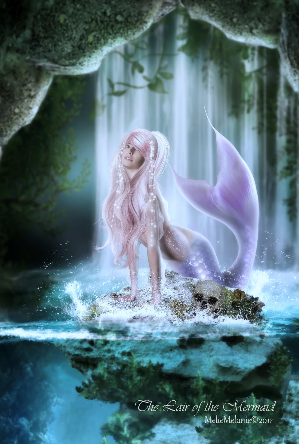 The Lair of the Mermaid by MelFeanen