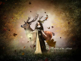 The Empress of the Forest by MelFeanen