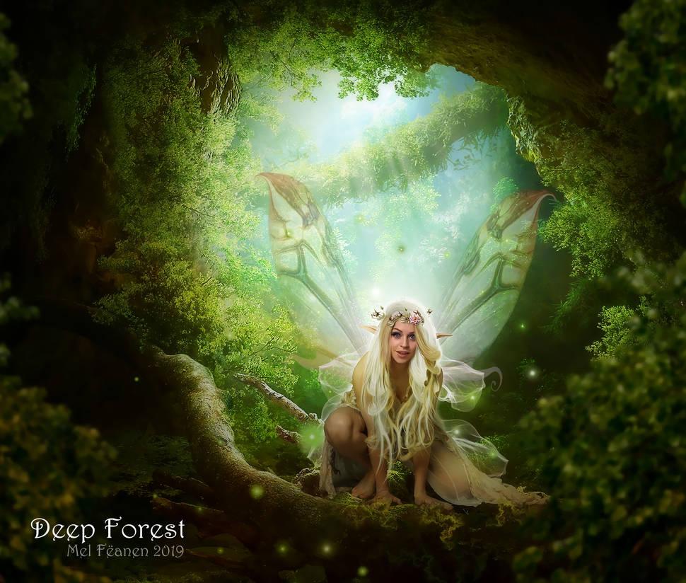 Deep Forest by feanen-lazuli