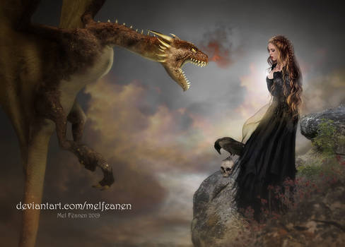 The Maiden and The dragon