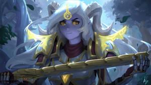 Luminay - Lightforged Draenei Warrior