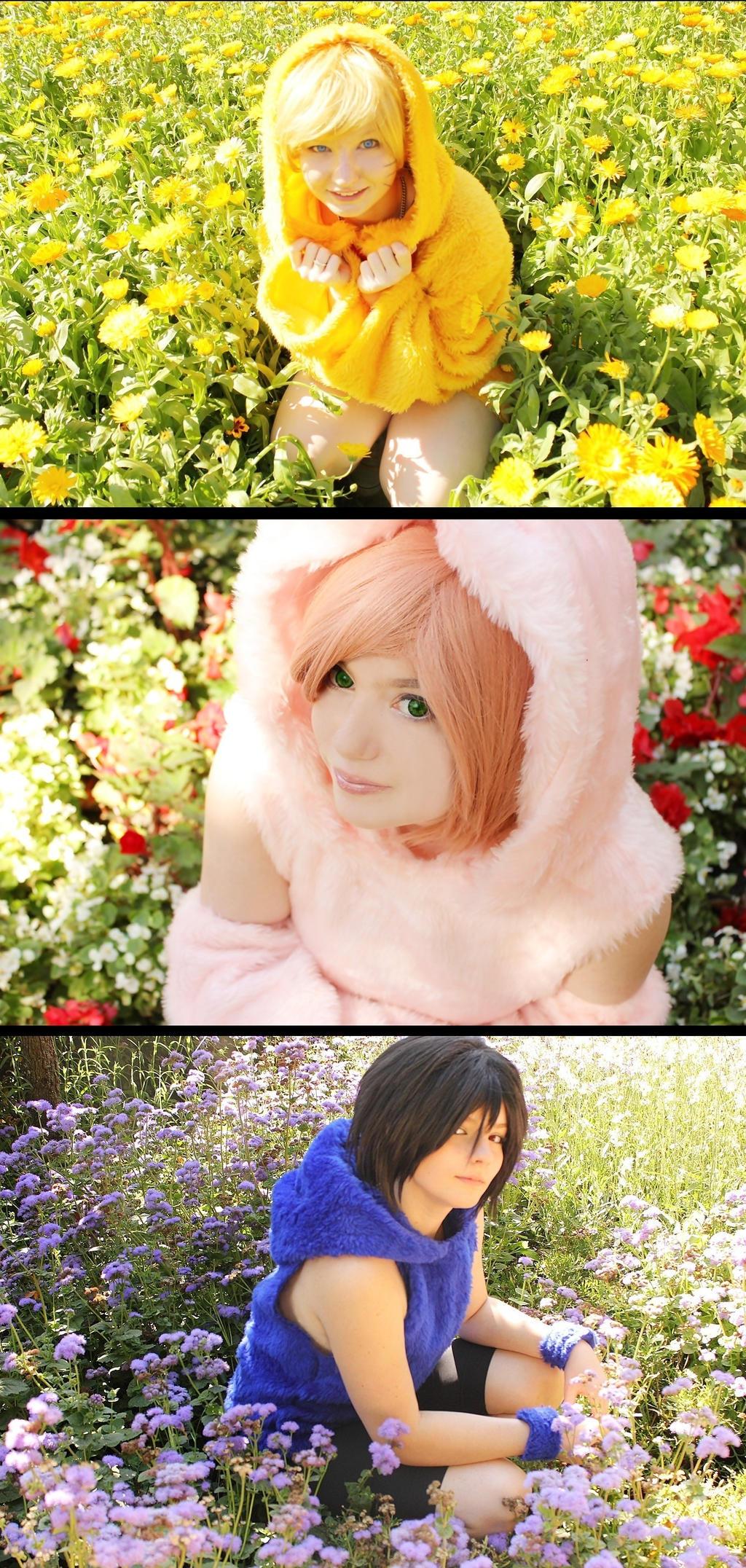 Team 7 Chibi by SayuriCosplay