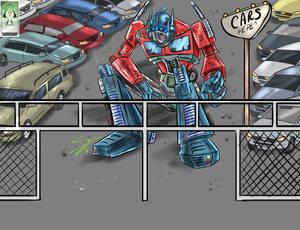 Optimus lote de autos