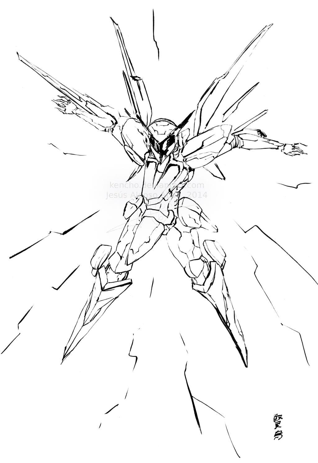 ZoE fan art by Kencho
