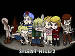Silent Hill 2 SD collage
