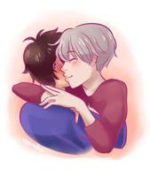 one more hug by Vreemdear