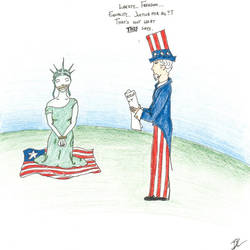 You Call That Patriotism? by bereavedheart