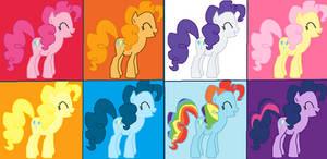 Pinkie Pie's Party Pony Pop Art