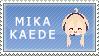 :stamp: Mika Kaede by xwondera