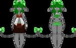 Jewellite Ref: Nevenka by owl--nerd
