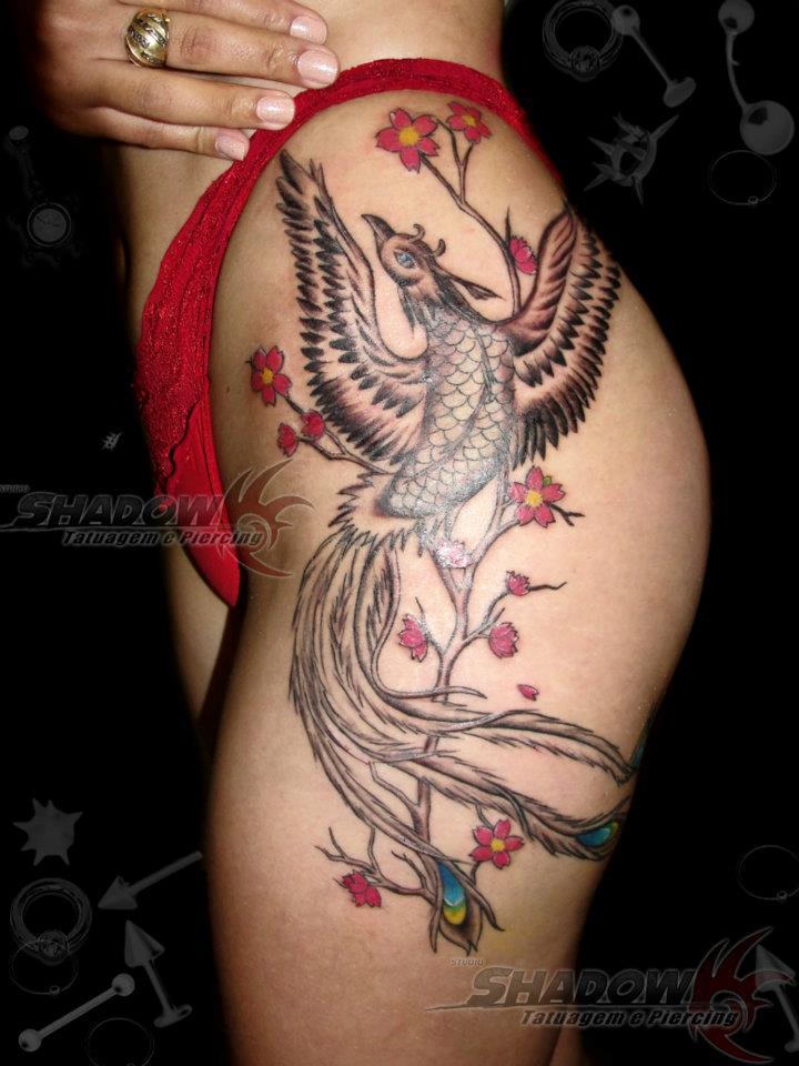 Tatuagem Fenix by BarbaraTattoo