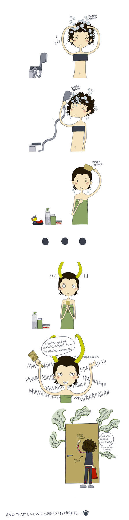 Feeling like Loki by Yam-Cat