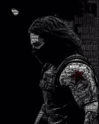 Winter Soldier Word Art
