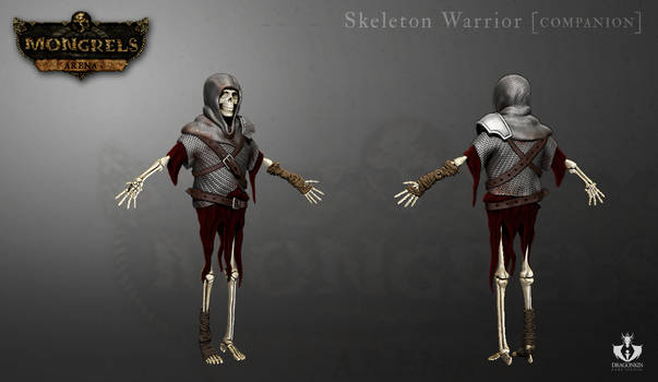 Skeleton Warrior 3D model for 'Mongrels: arena'