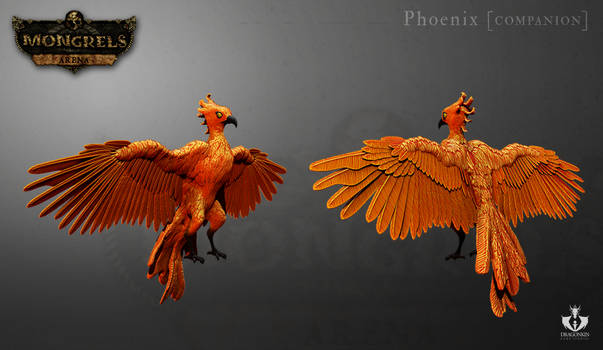 Phoenix 3D model for 'Mongrels: arena'