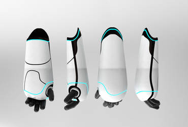 Mr. Robot's arms by n3ru