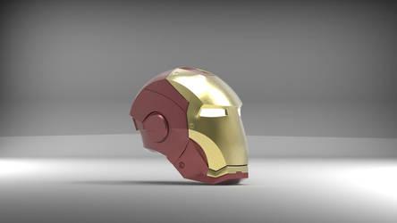 Iron Man Helmet by n3ru