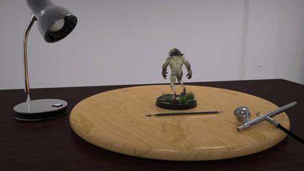 Sammael resin model preview (render) by n3ru