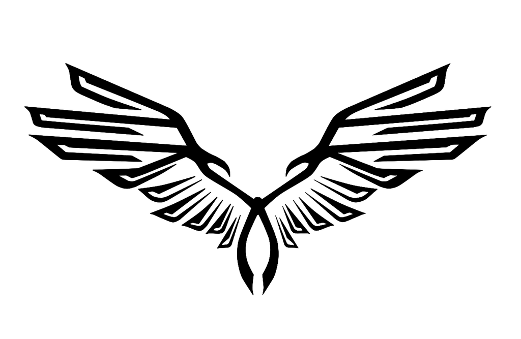 eagle symbol png angel wing clip art free angel wing clip art for cricut cutout