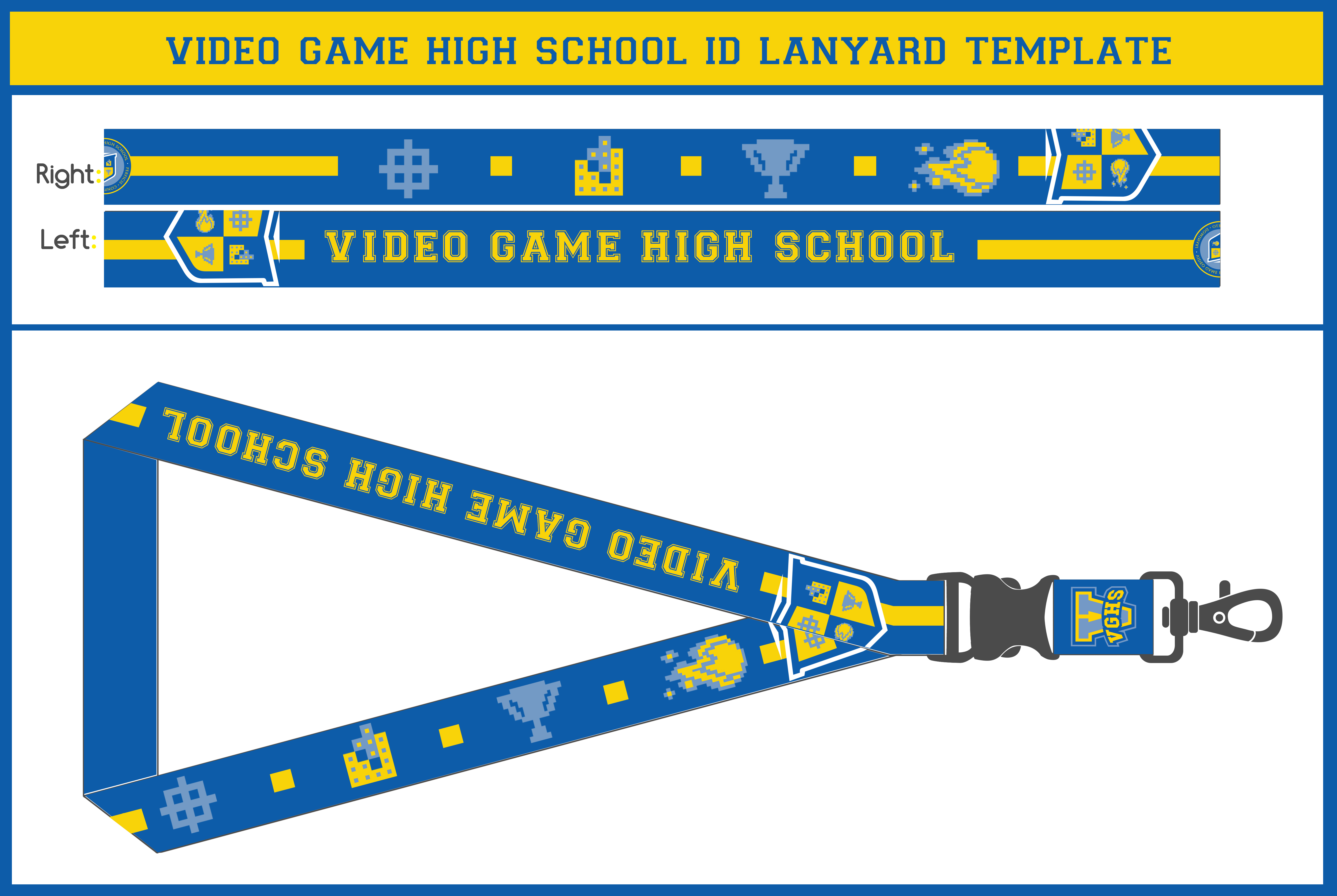 vghs id lanyard by vexvloudz97 on deviantart. Black Bedroom Furniture Sets. Home Design Ideas