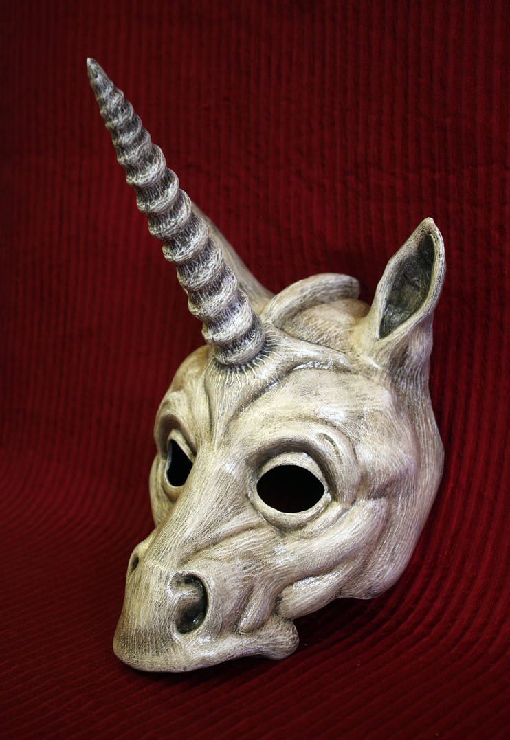 Unicorn Mask by Faust-and-Company on DeviantArt